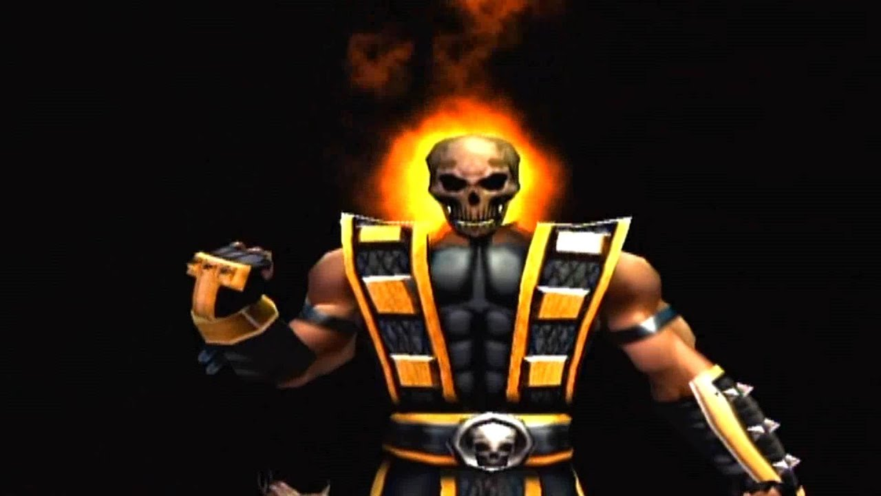 mortal kombat shaolin monks scorpion