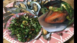 ยำหอยแมลงภู่ปลาร้าน้ำปรุงสำเร็จรูปทำง่ายเหมือนมีเชฟไปทำให้ทานเอง
