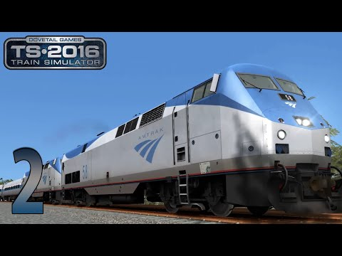 Train Simulator 2016| Amtrak | Raildriver and TrackIR