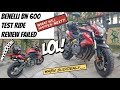 Benelli BN 600 test ride review and then this happened lol