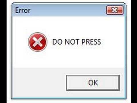 DO NOT PRESS [Computer Game] [DOWNLOAD!]