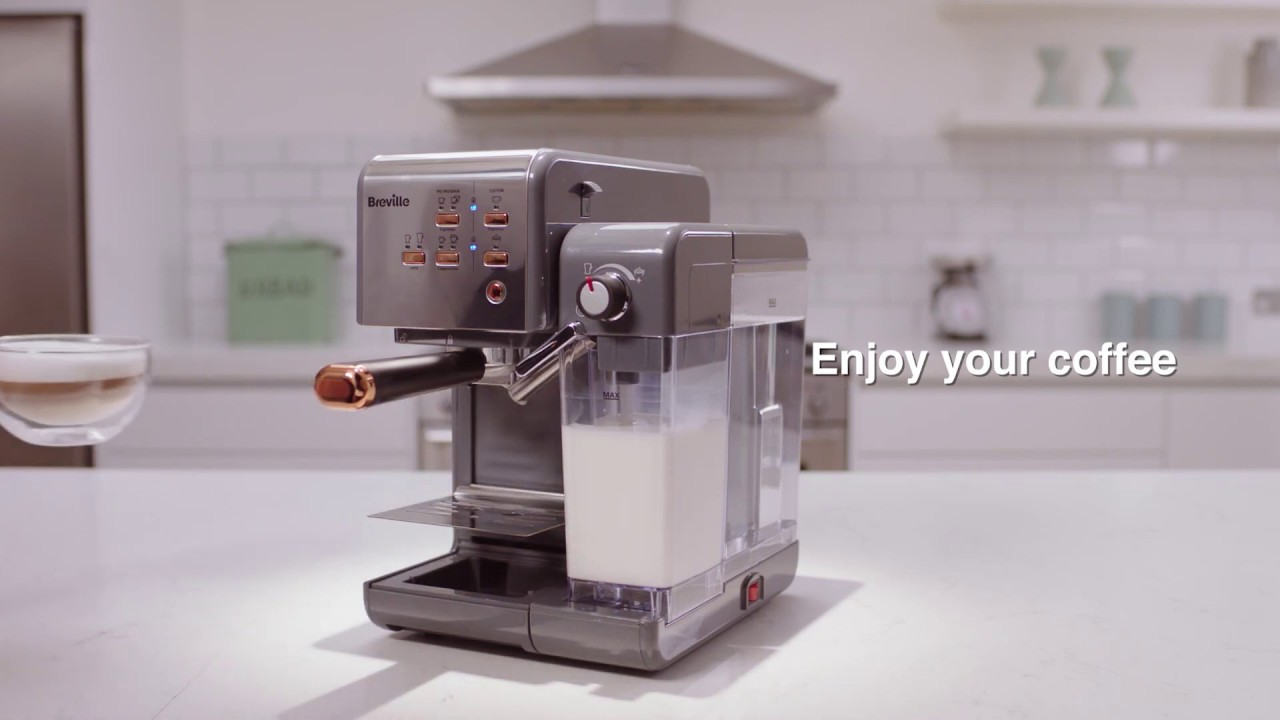 Breville One Touch Coffee House Vcf107 Vcf108 Vcf109 Youtube