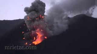 Rinjani eruption 2015