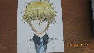 【Kaichou Wa Maid Sama!】- Drawing and Coloring Usui Takumi ウスイ タクミ