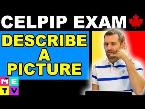 CELPIP Exam Speaking Practice | Describe a Picture