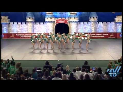 Floyd Central High School Large Varsity Pom Finals 2012