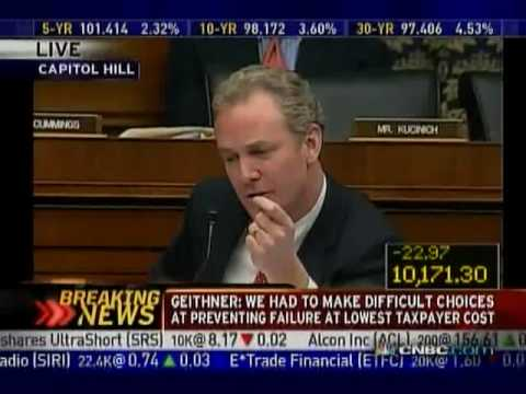 Tim Geithner Testimony