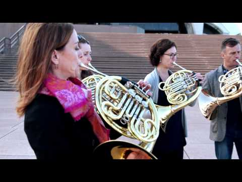 The Australian World Orchestra Horns Play Waltzing Matilda On Sarah´s Music!
