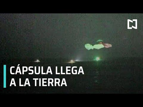 Concluye misión tripulada con naves Space X - Las Noticias