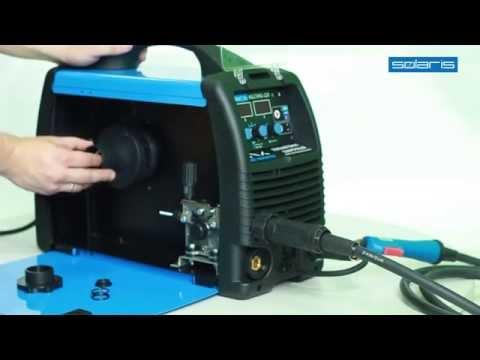 SOLARIS MULTIMIG 228.  Видеообзор многофункционального сварочного полуавтомата