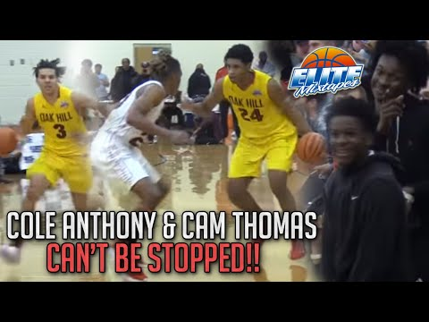 Cole Anthony & Cam Thomas SHOW OUT in the Queen City! - 동영상