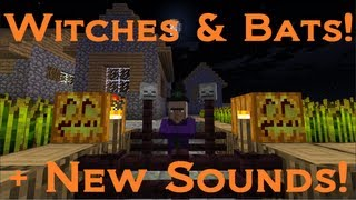 Minecraft + Mojang News: Witches, Bats & Sound Effects!