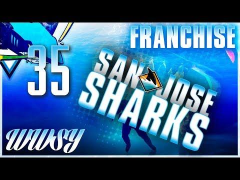 ROUND 1 vs Edmonton Oilers - NHL 18 San Jose Sharks GM Franchise - Ep. 35