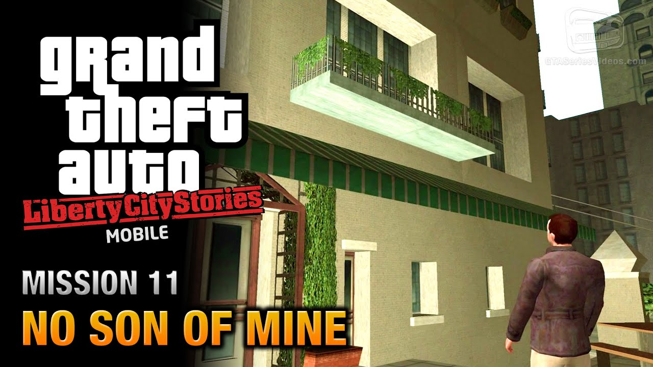 gta liberty city stories mobile mission 11 no son of. Black Bedroom Furniture Sets. Home Design Ideas