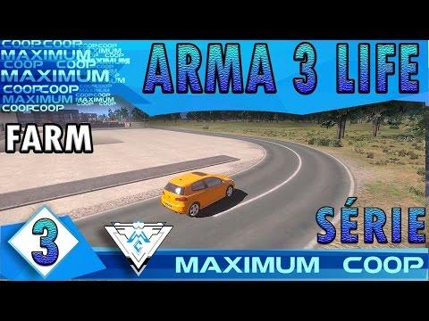 ARMA 3 AUSTRALIA LIFE COOP #3 - BATIDA POLICIAL E FARM DE VIDRO / Gameplay 1080p  PT-BR