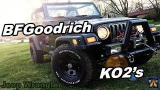 New Wheels and BFGoodrich KO2 Tires on my Black Jeep Wrangler(, 2017-04-26T18:00:02.000Z)
