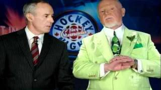 Don Cherry\'s take on Zdeno Chara\'s hit on Max Pacioretty