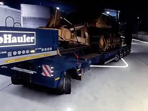 Euro Truck Simulator 2 Heavy Cargo Pack & Vive La France Loading Dock |