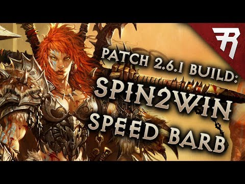 Diablo 3 Season 15 Barbarian Wrath of the Wastes whirlwind Speed build guide + bounties: Patch 2.6.1
