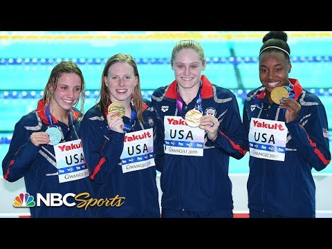 Simone Manuel, USA smash World Record in 4x100m medley relay | NBC Sports