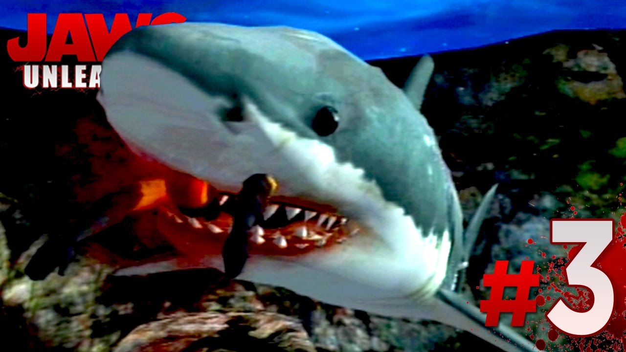 jaws unleashed gameplay mission 3 ps2 hd youtube