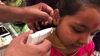 कान में छेद | Ear Piercing without Pain | Painless Earlobes Piercing for Kids