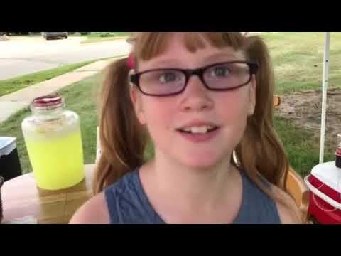 On Assignment with Anelia: Girl raises money for Harvey with lemonade stand