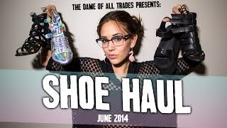 Shoe Haul & ZooShoo Review of June 2014 - Y.R.U. Orion, Holographic booties, & More. Thumbnail