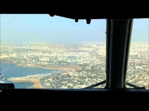 Landing at Dakar,Senegal LH8269 13Jan 2012 MD11 D-ALCS