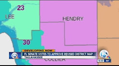 Florida Senate votes to approve revised district map