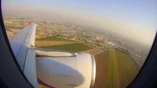 Взлёт из аэропорта Худжанд