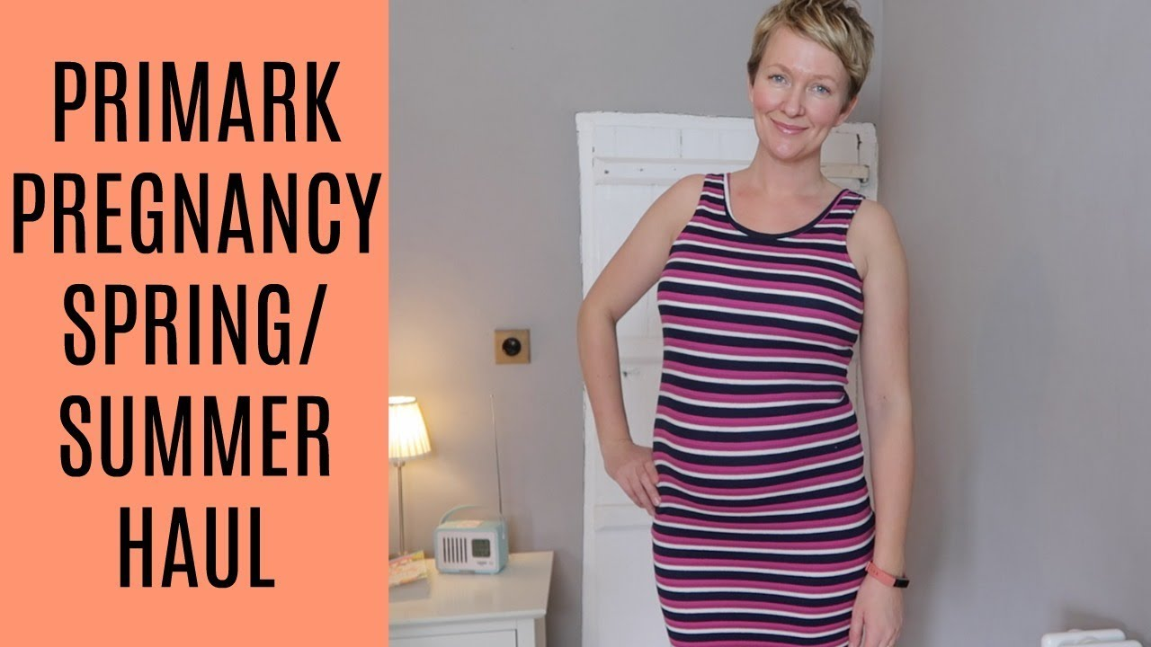 49684a41d Primark Pregnancy Spring Summer Haul