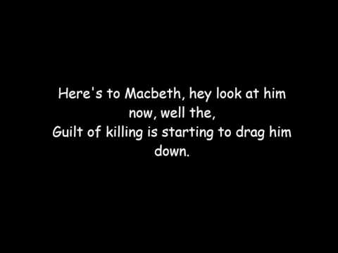 Shout out to Macbeth - A Revision song