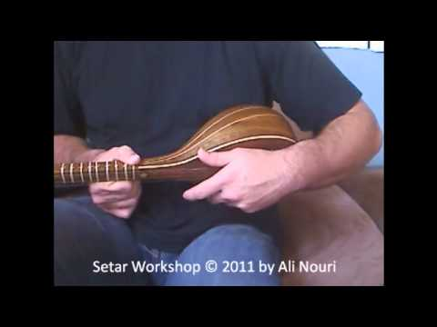 Persian Setar Workshop video 2: Performing Mezrab