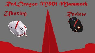 Unboxing And Reveiw Of The RedDragon M801 Mammoth Mouse