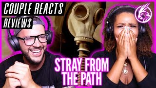 """COUPLE REACTS - Stray From The Path """"Fortune Teller"""" - REACTION / REVIEW"""
