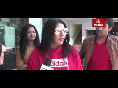 RAKHI SAWANT IN JAMMU interview by Prerna | JK Media