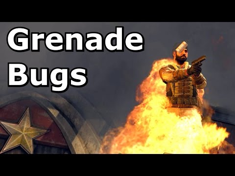 Problems with CS:GO's grenades