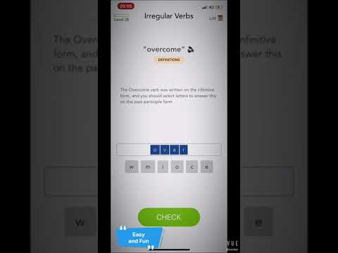 Verbi Irregolari In Inglese Apprendimento App Su Google Play