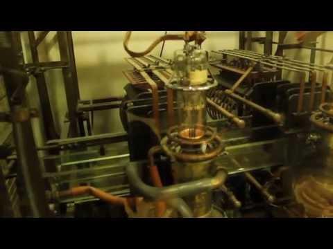 Marconi ` beam` transmitter CV 1606  water-cooled valves