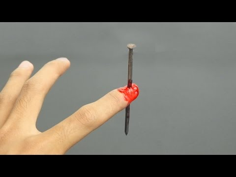 Thumbnail: Realistic Nail Through Finger Magic Trick (Awesome Magic Trick)