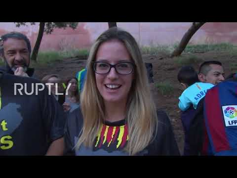 Spain: Fans drop jaws as IRANIAN MESSI hits Barcelona to meet the real McCoy