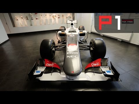 AWESOME tour of Sauber F1's history