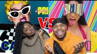 WHO MADE THIS LIST 😂 | Nicki Minaj vs Cardi B (Best Songs) | REACTION!!!