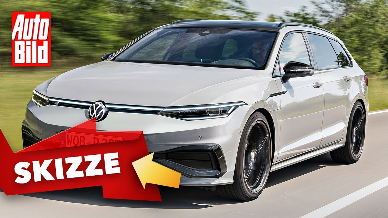 VW Passat B9 (2024) | Das könnte das neue Design des neuen Passats sein | Skizze