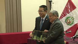 Tema:Firma de convenio con Universidad de China