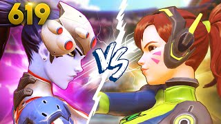 Most Intense T500 Fight!! | Overwatch Daily Moments Ep.619 (Funny and Random Moments)
