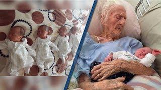 70 Yaşındaki Kadın Dördüz Doğurdu, Babasının Kim Olduğunu Öğrenince İğreneceksiniz.