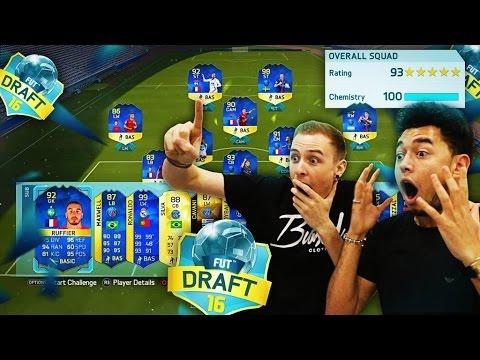 INSANE 193 TOTS FUT DRAFT CHALLENGE!!! (FIFA 16 FUT DRAFT)