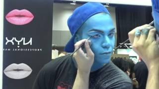 NYXCOSMETICS ARABIA- Mystical Genie Makeup by @Arabia.Felix مكياج فني مع أريبيا فيليكس